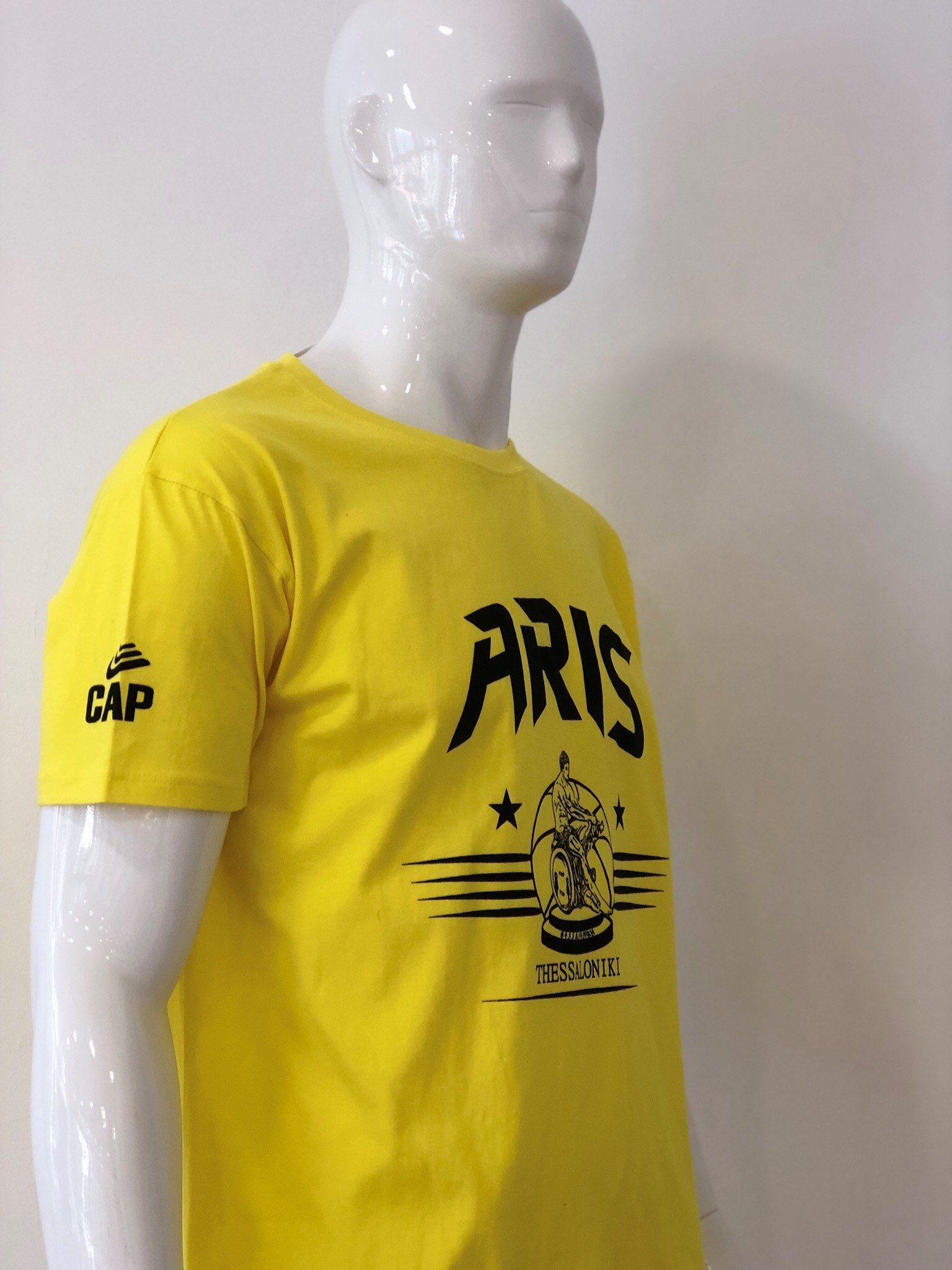T-shirt ARIS THESSALONIKI YELLOW
